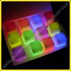 Cubitos Fluorescentes