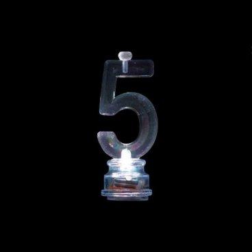 4 Velas con 5 Intermitente