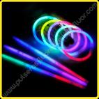 Pulseras Fluorescentes Tricolor (100 uds)