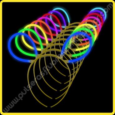 Orejas Fluorescentes a Granel (50 uds)
