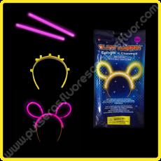 Orejas Fluorescentes Individuales (1 ud)