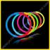 Pulseras Fluorescentes Bicolor (100 uds)