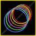 Collares Fluorescentes Unicolor (50 uds)