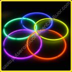 Collares Fluorescentes Unicolor
