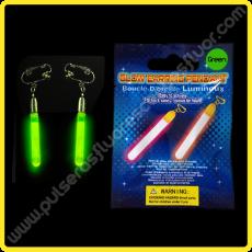 Pendientes Fluorescentes Alargados