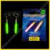 Pendientes Fluorescentes Alargados (2 uds)