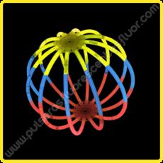 Esferas Fluorescentes Tricolor