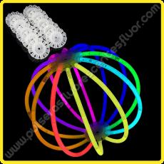Esferas Fluorescentes Unicolor