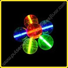 Pelotas de Goma Fluorescentes