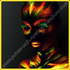 Pintura que brilla en la oscuridad 10 ml