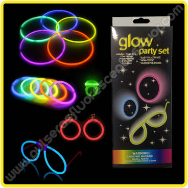 Fiesta Fluorescente Pack Completo (1 ud)