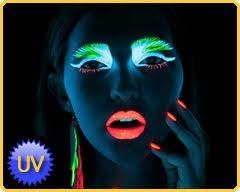 Maquillaje Fluorescente Neon