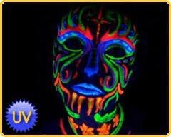 Pintura Fosforescente Neon Uv