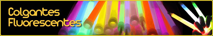 colgantes fluorescentes luminosos
