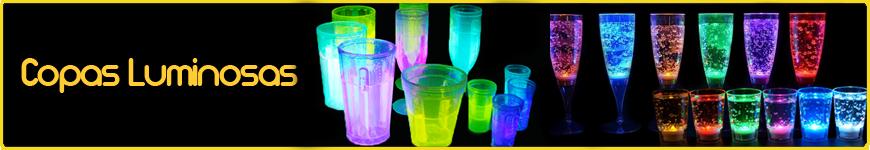 copas luminosas vasos luminosos