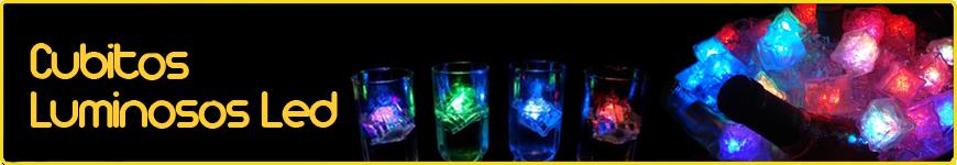 cubitos hielo led luminosos