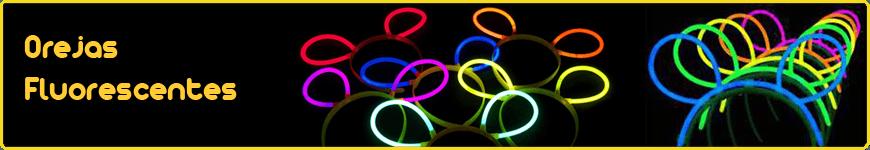 orejas fluorescentes luminosas