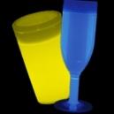 Vasos Fosforescentes con Luz